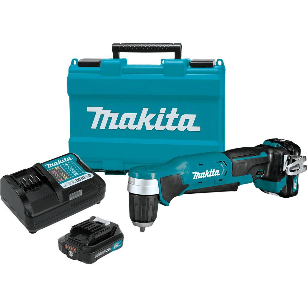 12-Volt MAX CXT Lithium-Ion Cordless 3/8 in. Right Angle Drill Kit