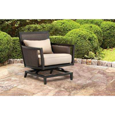 Greystone Patio Motion Lounge Chair in Sparrow -- STOCK