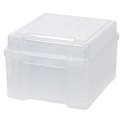 4 in. x 6 in. Photo and Craft Keeper in Clear