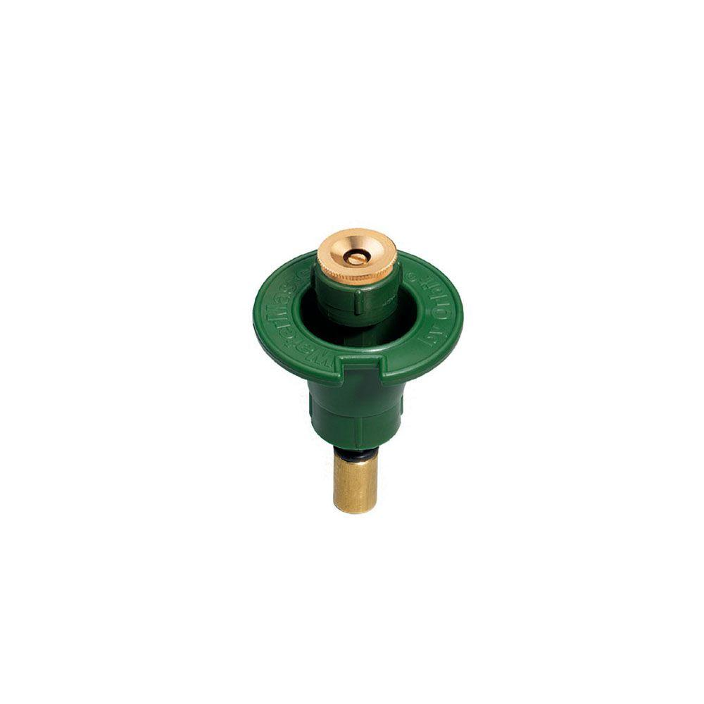 1/2 Pattern Plastic Pop-Up with Brass Nozzle