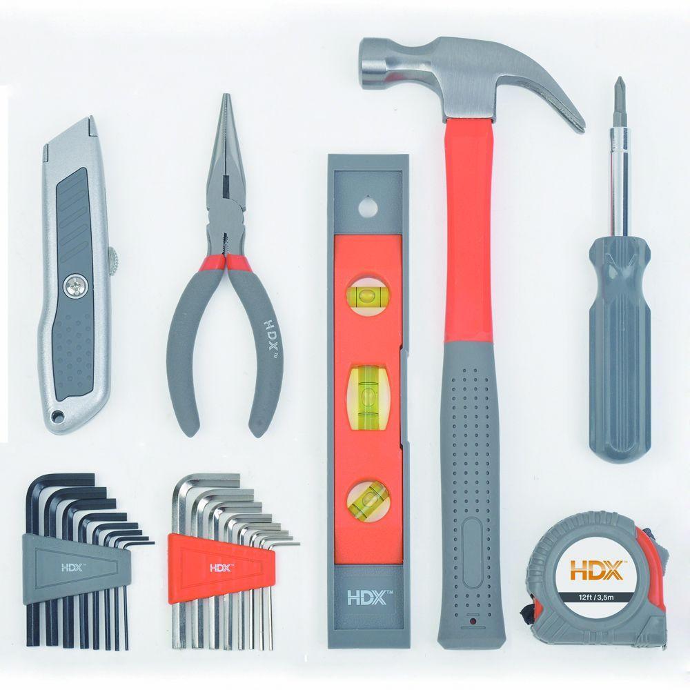 HDX Home Tool Set (22--Piece)