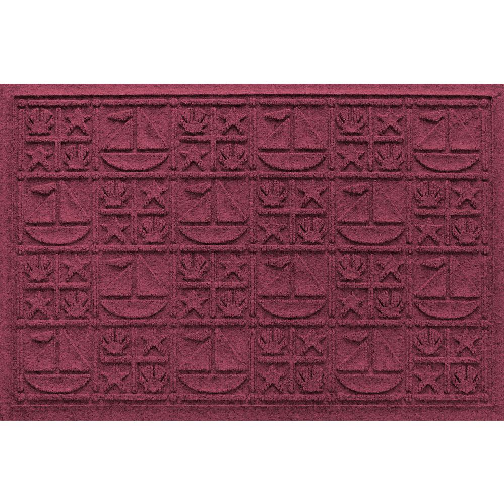 Bordeaux 24 in. x 36 in. Nautical Polypropylene Door Mat