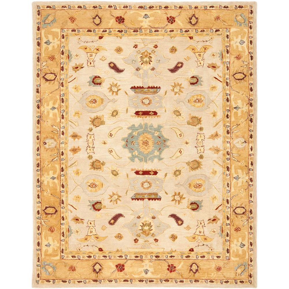 Anatolia Ivory/Gold 9 ft. 6 in. x 13 ft. 6 in.