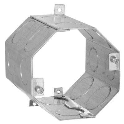 4 in. Octagon Welded Concrete Ring, 4 in. Deep with 3/4 and 1 in. Knockouts (20-Pack)