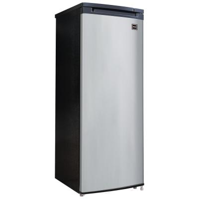 6.5 cu. ft. Manual Defrost Upright Freezer in VCM Stainless Steel Look