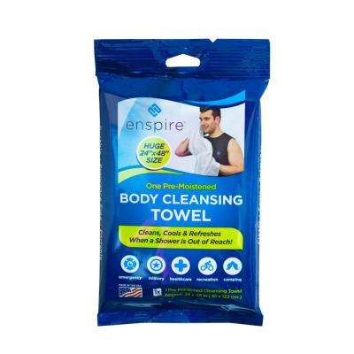 24 in. x 48 in. Body Cleansing Towel