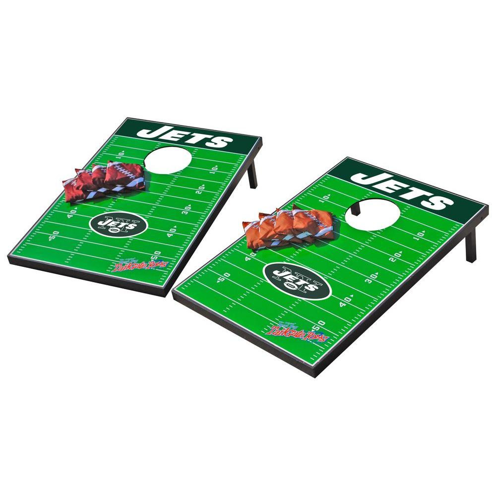 Wild Sports New York Jets Tailgate Cornhole Toss