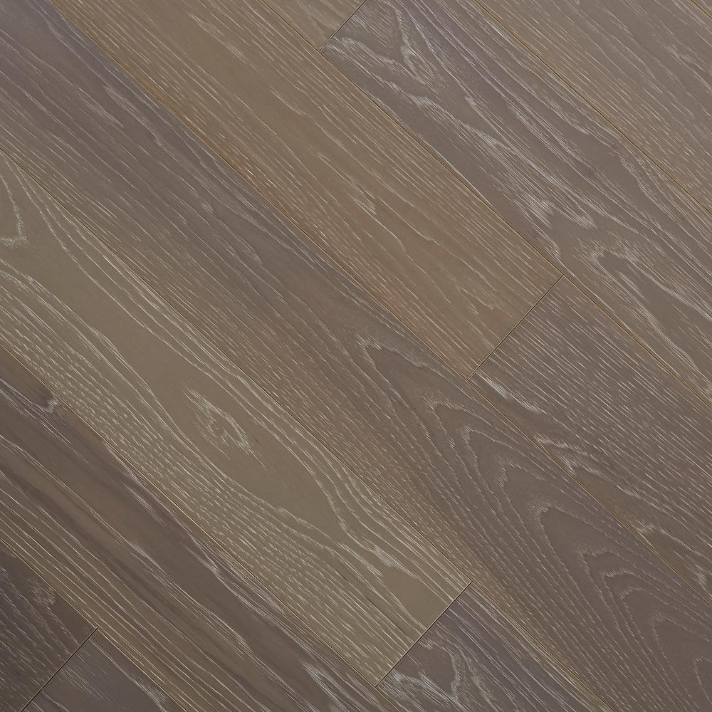 Home legend wire brushed hickory smoketree 3 8 in t x 5 for Click hardwood flooring