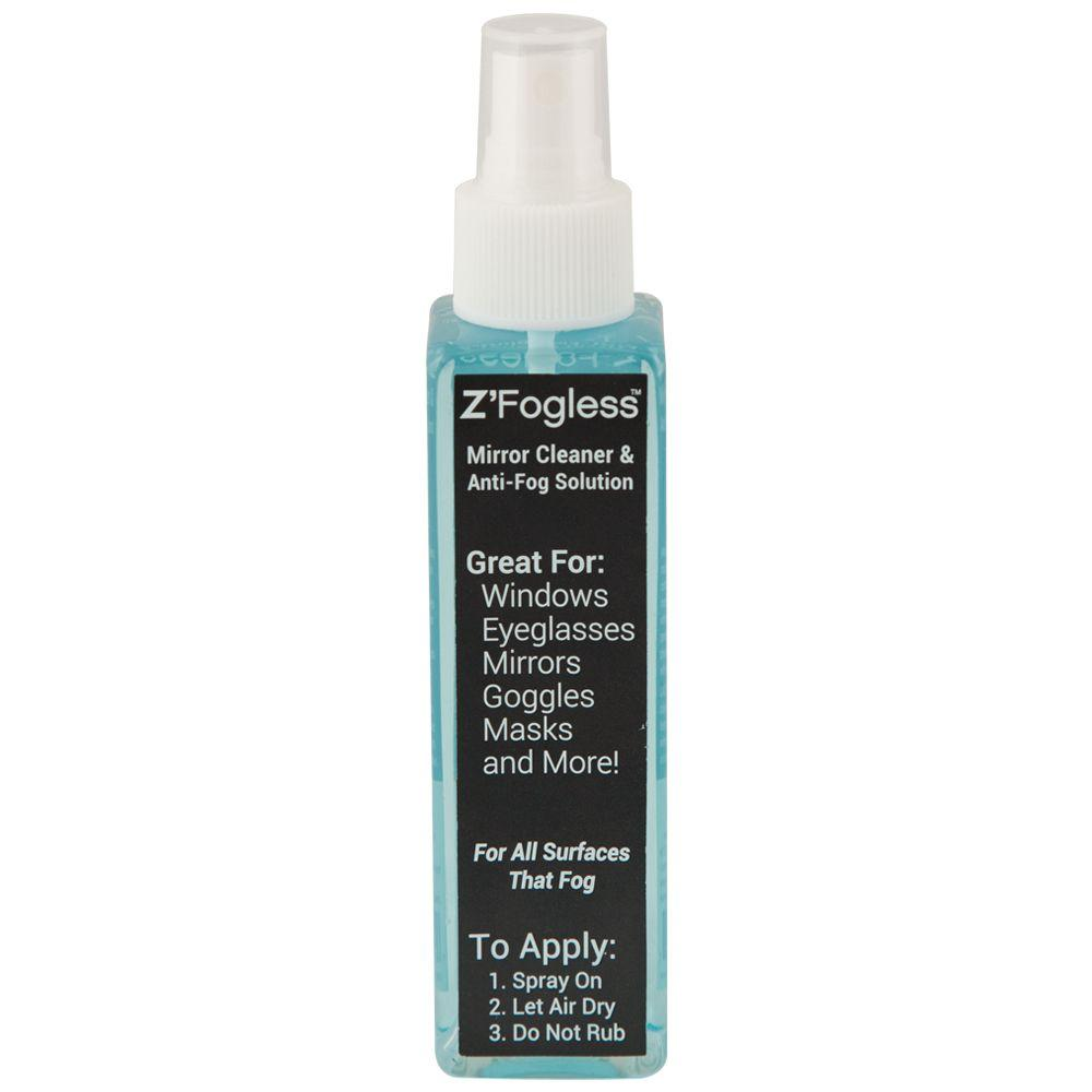 Showerdoordirect Zfogless Spray Solution Anti-fog spray solution and cleaner for any surface that fogs up. For home, car, boat, windows, mirrors, eyeglasses, goggles, masks and more.