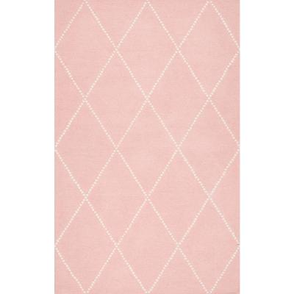 5 X 8 Nursery Pink Kids Rugs