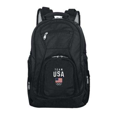 Olympics Team USA Backpack Laptop in Black Duffel Bag