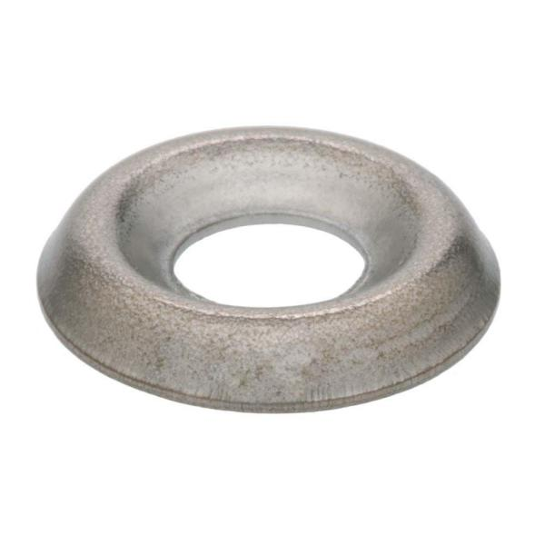 AISI 304 Stainless Steel 18-8 1//4 Countersunk Finishing Cup Washers 200 pcs