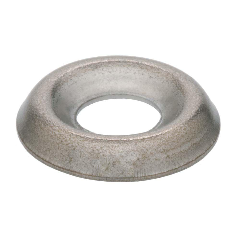 Everbilt #6 Nickel-Plated Steel Finishing Washers (10-Pack)