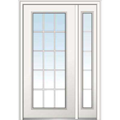 48 X 80 No Panel Off White Front Doors Exterior Doors The