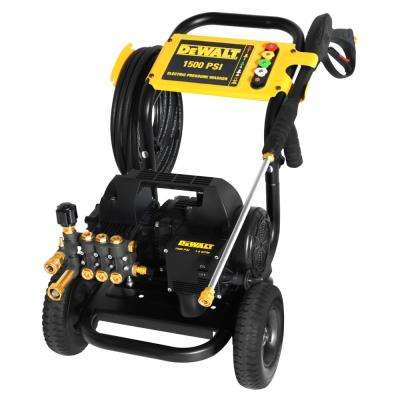 Heavy-Duty 1,500 PSI 1.8 GPM Electric Pressure Washer