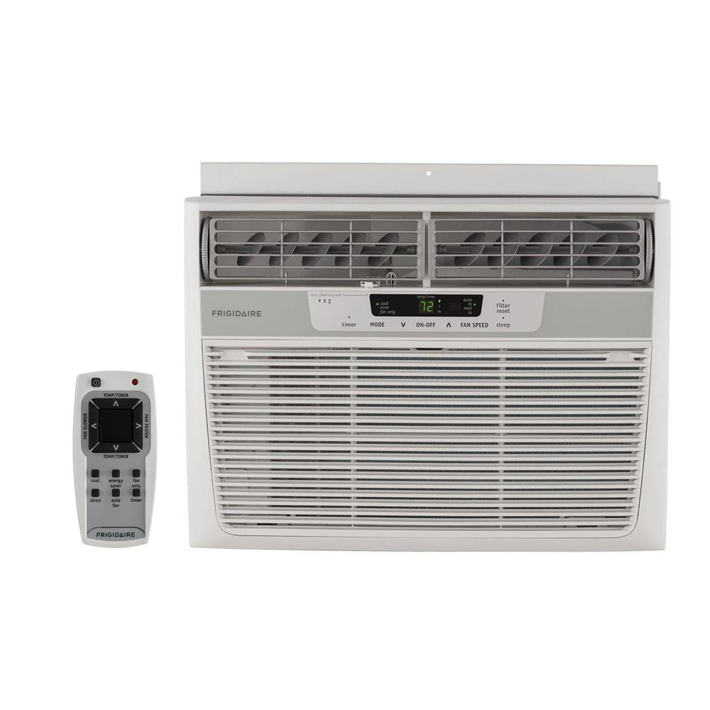 10,000 BTU 115-Volt Window-Mounted Compact Air Conditioner with Remote Control