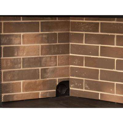 Firebrick Panel Set For 36 In Zero Clearance Ventless Dual Fuel Fireplace Insert