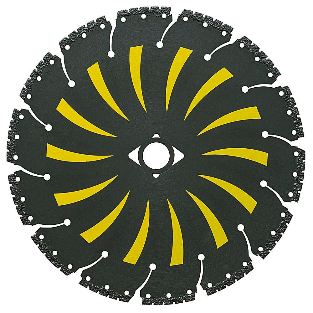 7 in. x 14 Tooth General Purpose Demolition with Vacuum-Brazed Core