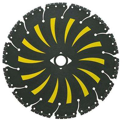 7 in. x 14 Tooth General Purpose Demolition with Vacuum-Brazed Core Circular Saw Blade