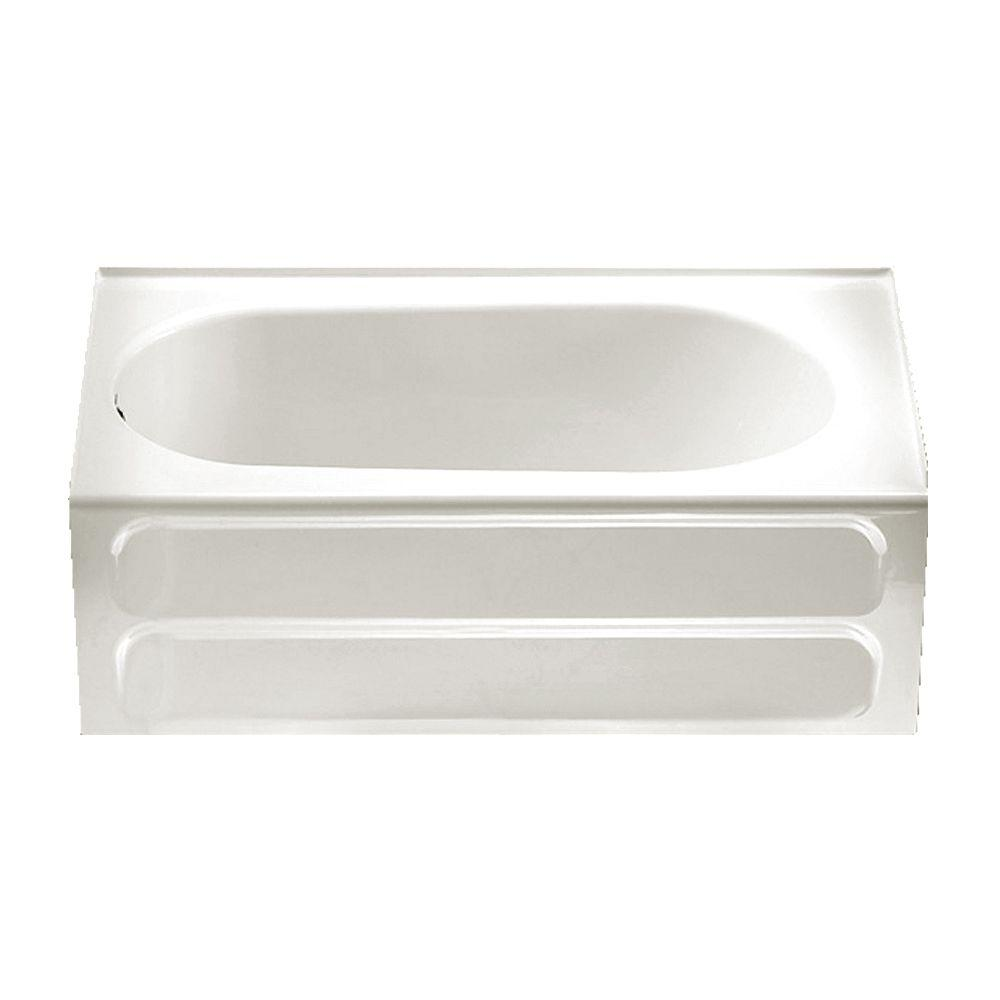 American Standard Standard Collection 5 ft. Left Drain Bathtub in White
