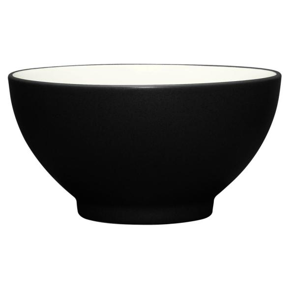 Noritake Colorwave 20 oz. Graphite Rice Bowl 8034-772