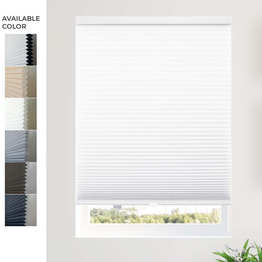 Chicology Custom Made Cordless Cellular Shades Morning Mistprivacy