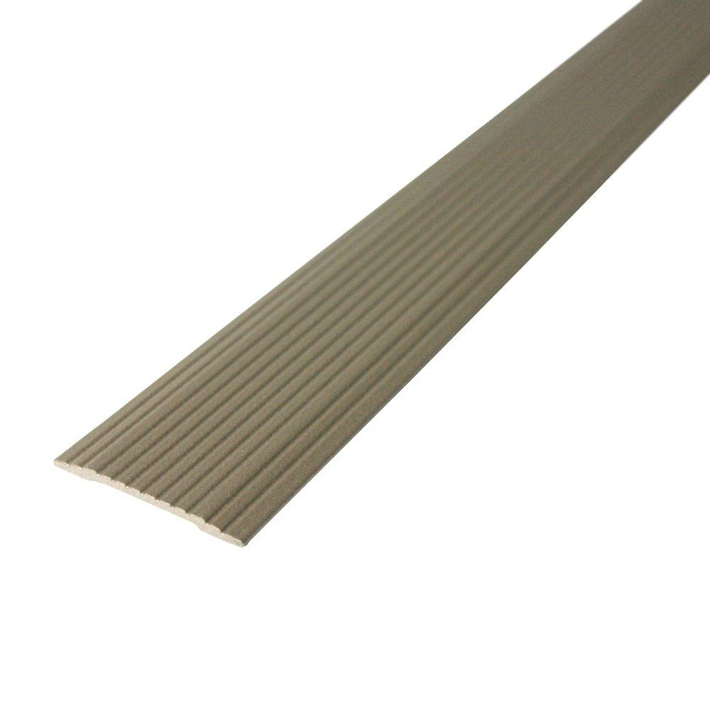 M-D Building Products Cinch 1.25 in. x 36 in. Spice Fluted Seam Cover Transition Strip