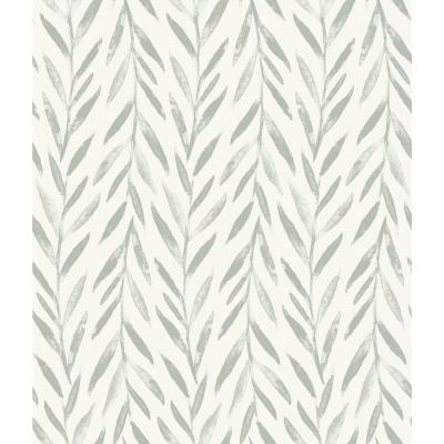 Willow Grey Paper Strippable Roll (Covers 56 sq. ft.)