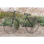 31 in. x 56 in. Rustic Iron Vintage Bicycle Frame Planter