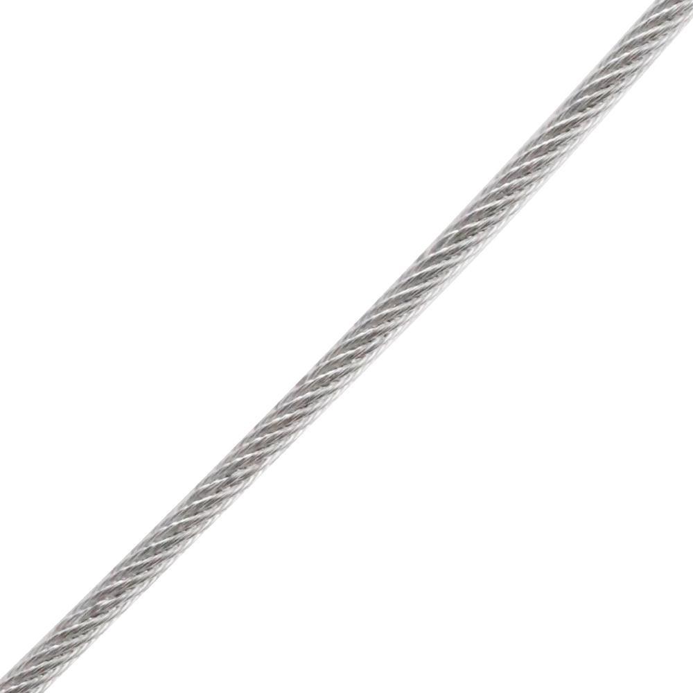 3/32 x 1ft. Galvanized Vinyl Coated Steel Wire Rope