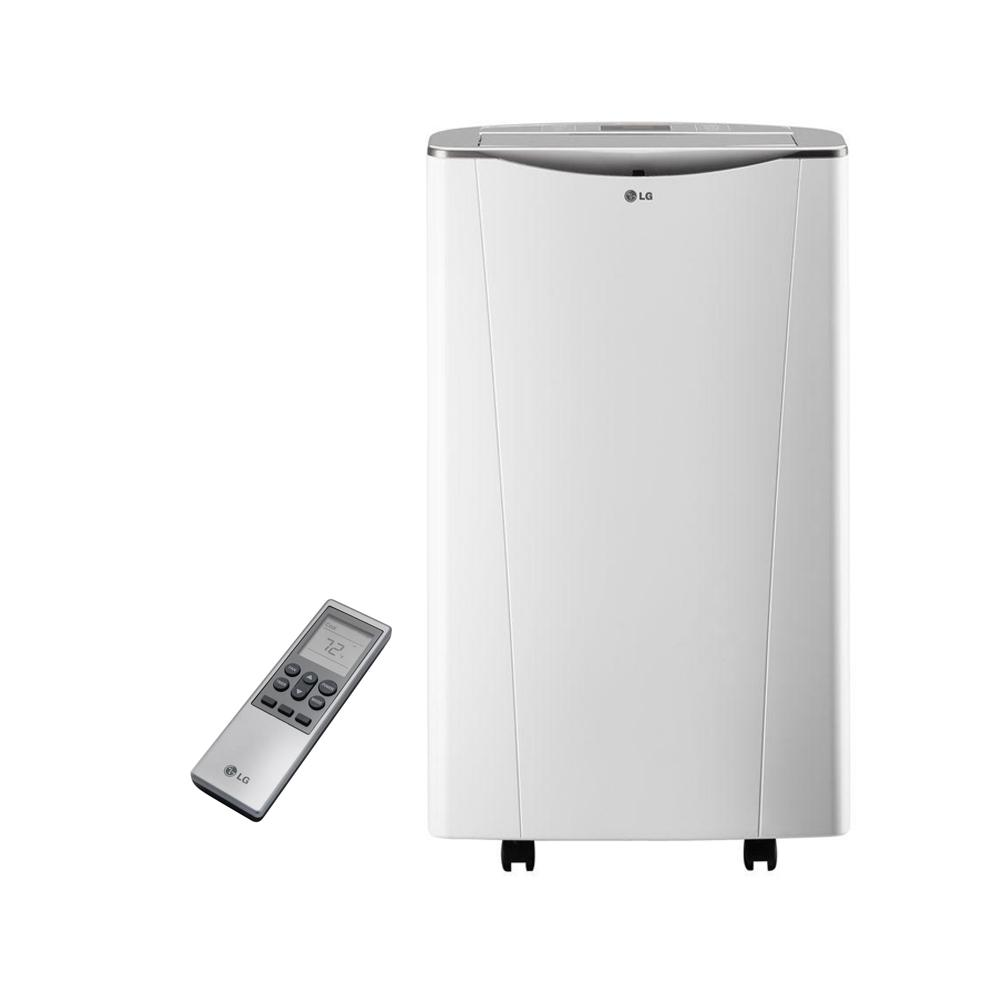 Lg electronics smart 14000 btu portable air conditioner and lg electronics smart 14000 btu portable air conditioner and dehumidifier function w wi fi fandeluxe Gallery