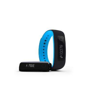 Black and Blue Fitness Tracker