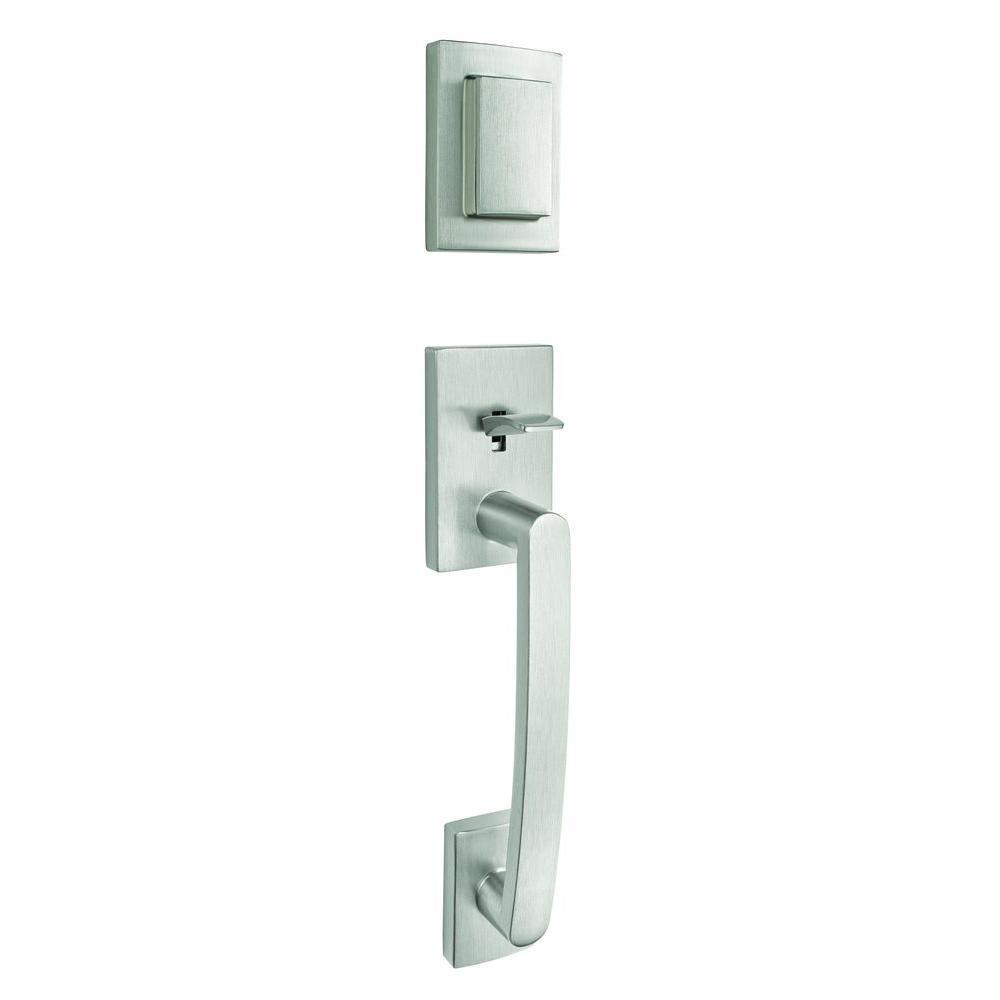 Baldwin Prestige Spyglass Single Cylinder Satin Nickel Door ...