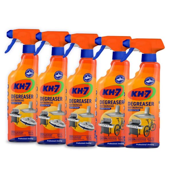 Kh 7 25 Oz Concentrated Professional Grade Degreaser Spray 5 Pack Kh7 Zvl 5 The Home Depot