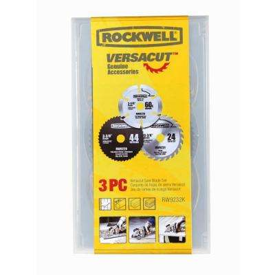 VERSACUT Blade Set (3-Piece)