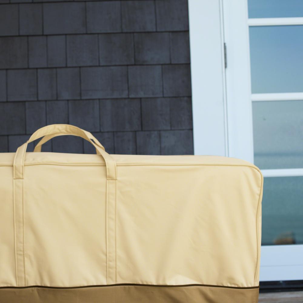 Classic Accessories Veranda X Large Patio Cushion Storage Bag 55 648 051501 00 The Home Depot