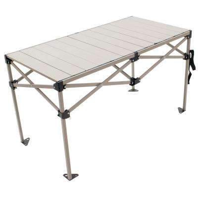 25 in. x 48 in. Aluminum Camp Table