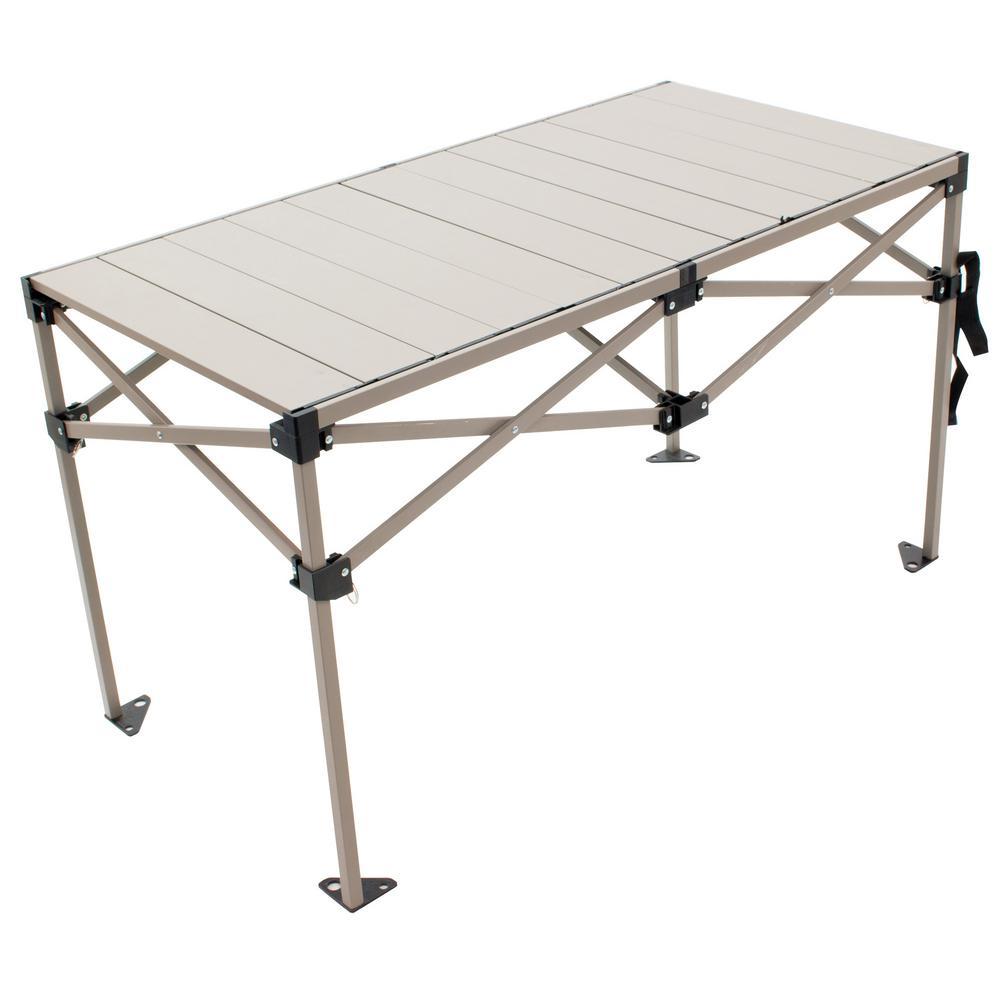 25 in. x 48 in. Aluminum Camp Table