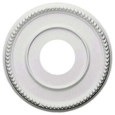 12-1/2 in. x 3-7/8 in. I.D. x 3/4 in. Bradford Urethane Ceiling Medallion (Fits Canopies upto 6-5/8 in.)