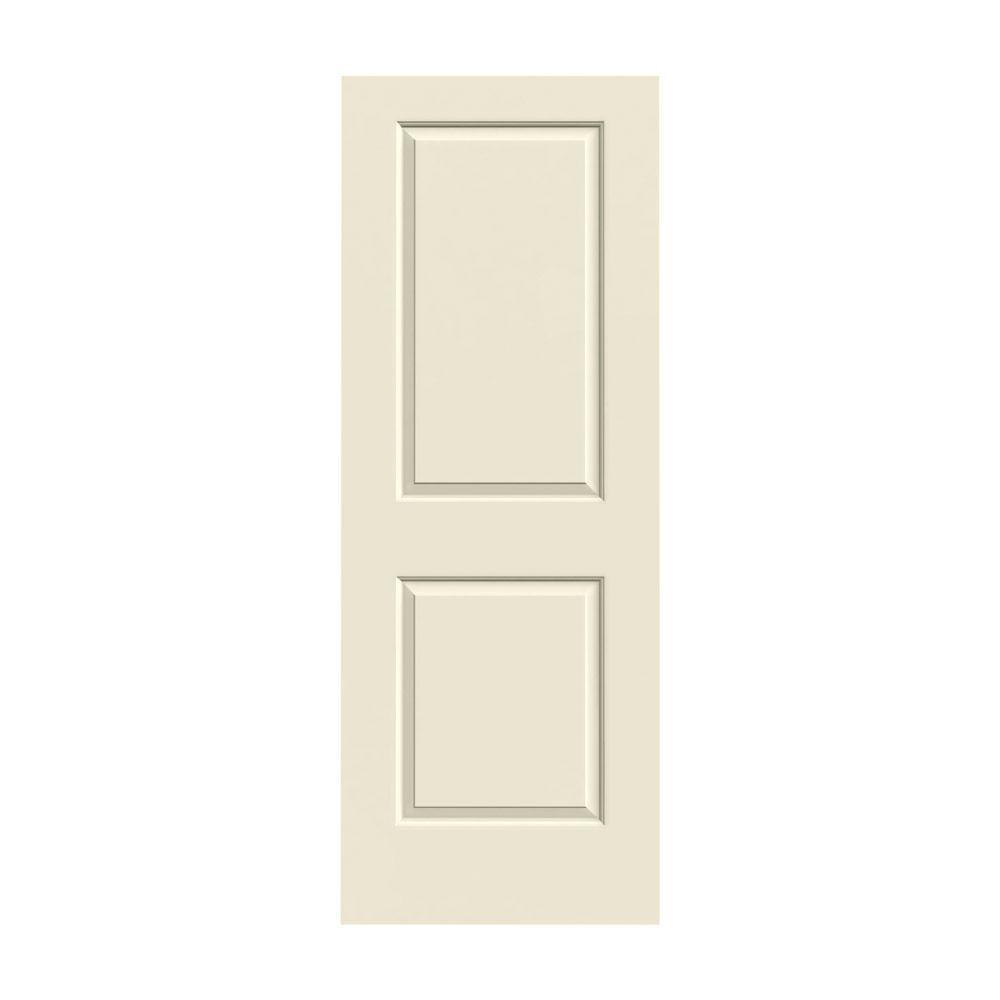 Jeld Wen 30 In X 80 In Cambridge Primed Smooth Solid Core Molded Composite Mdf Interior Door Slab 223416 The Home Depot