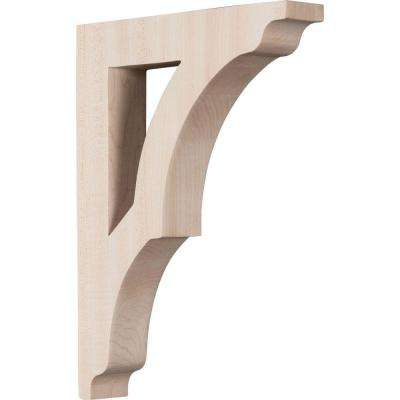 1-3/4 in. x 12 in. x 8-1/2 in. Red Oak Large Avila Bracket