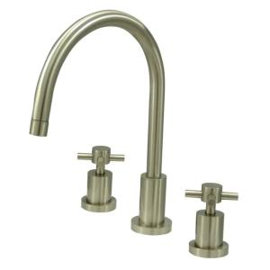 Concord 2-Handle Standard Kitchen Faucet in Brushed Nickel