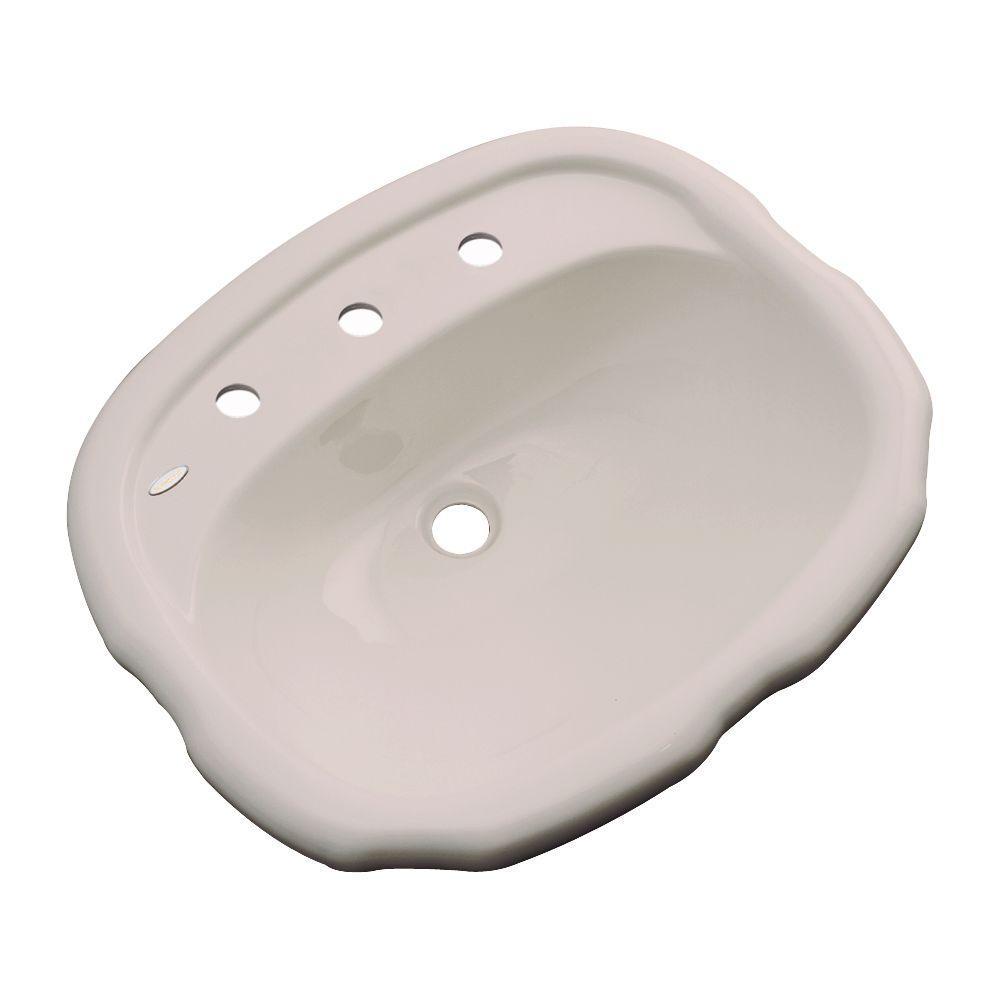 null Aymesbury Drop-In Bathroom Sink in Fawn Beige