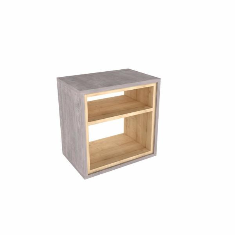 Ada Home Decor Sage Driftwood Modern Side Table MNRS3013