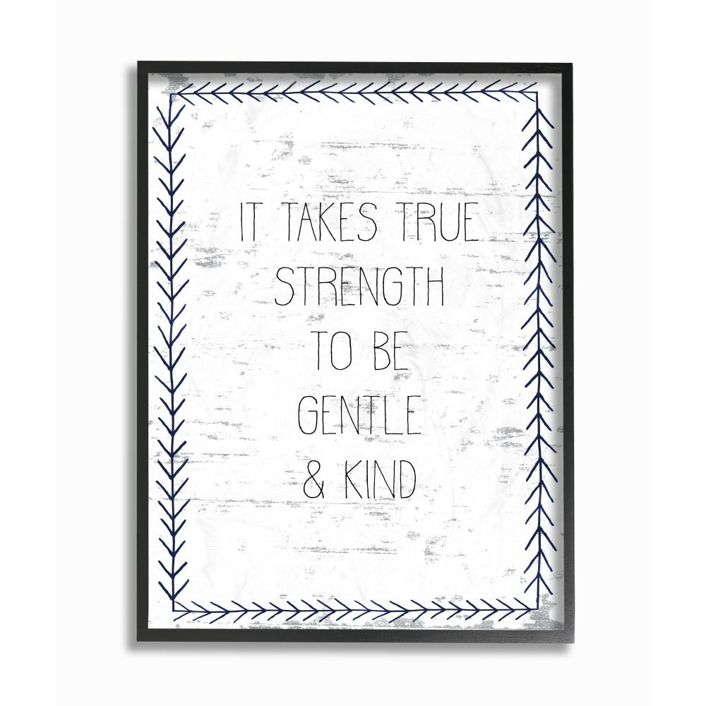 The Stupell Home D/écor Collection Mind Your Own Biscuits and Gravy Subtle Birch Typography Framed Giclee Texturized Art 11 x 14 Multi-Color