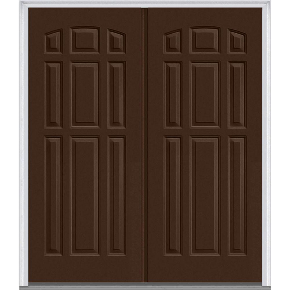 MMI Door 72 In. X 80 In. Right-Hand Active Inswing 9 Panel