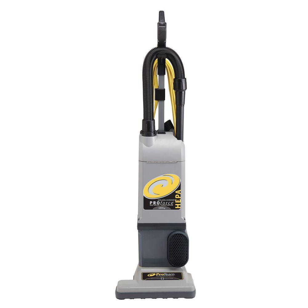ProTeam ProForce 1200XP HEPA Upright Vac With On Board Tools