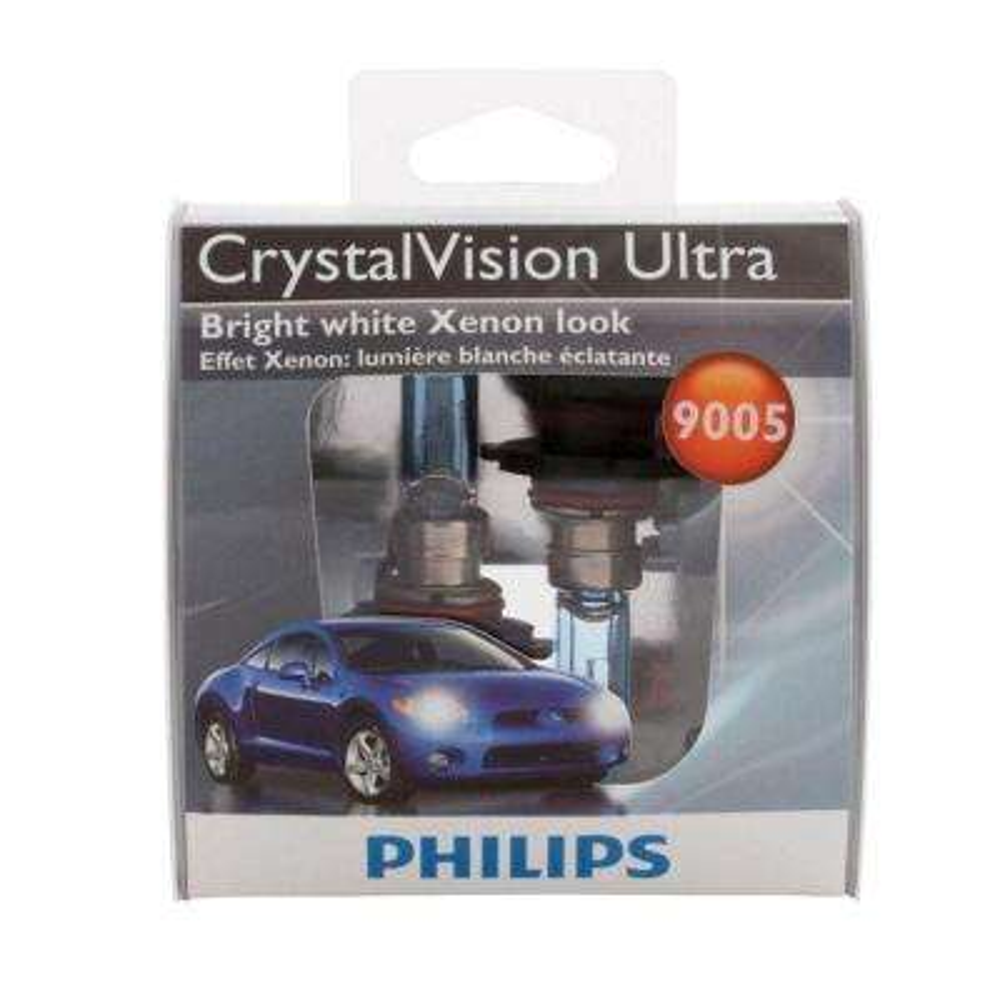 CrystalVsion Ultra 9005 Headlight Bulb (2-Pack)