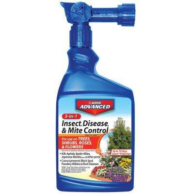 32 oz. Ready-to-Spray 3-in-1 Insect, Disease and Mite Control
