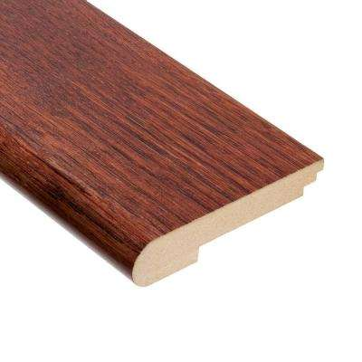 Hickory Tuscany 3/4 in. Thick x 3-1/2 in. Wide x 78 in. Length Hardwood Stair Nose Molding
